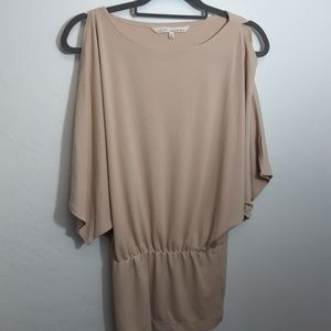 Rachel  Roy Nude Blush cold shoulder  tunic small